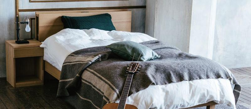 テンピュールのベッド