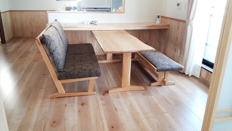 北杜市f様邸へ納品した家具