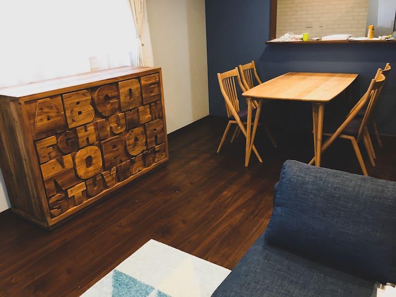 お客様へ家具を納品させていただきました PART16>市川三郷町のK様邸。