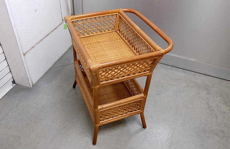 アウトレット家具限定1台:籐 脱衣カゴ