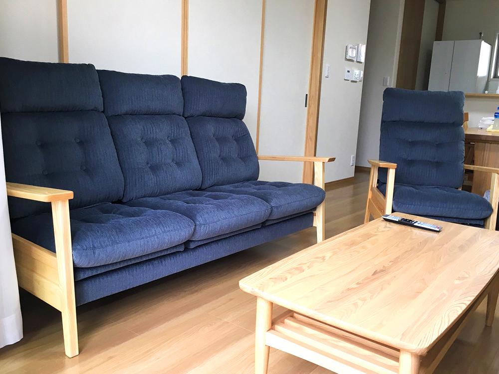 甲府市A様邸への家具納品事例