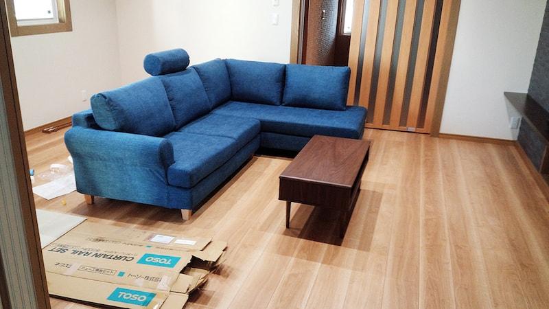 家具の設置事例m様宅