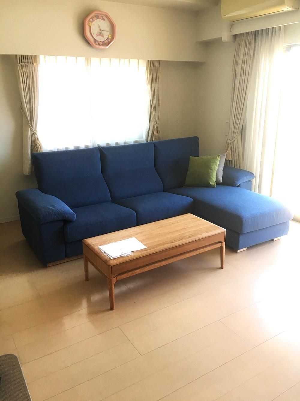 甲府市S様邸への家具納品事例