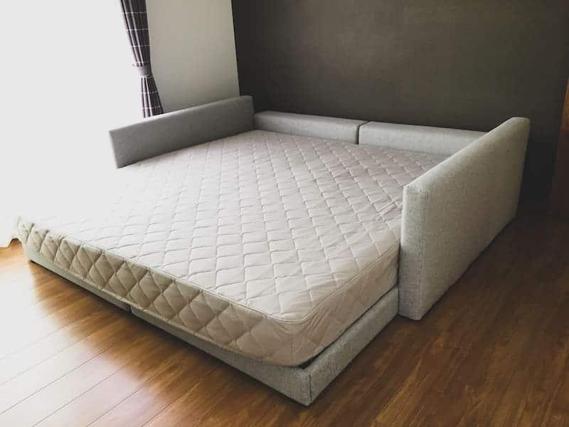 お客様へ家具を納品させていただきました PART16>ハグミルベッド