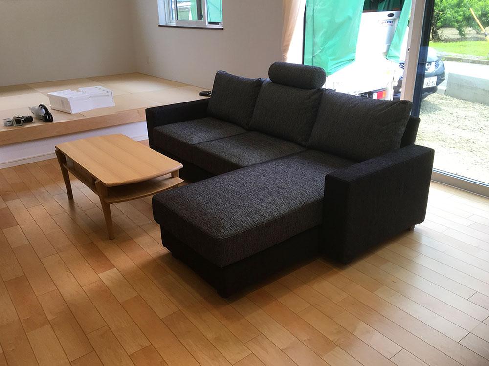 お客様への家具納品事例 南アルプス市H様邸