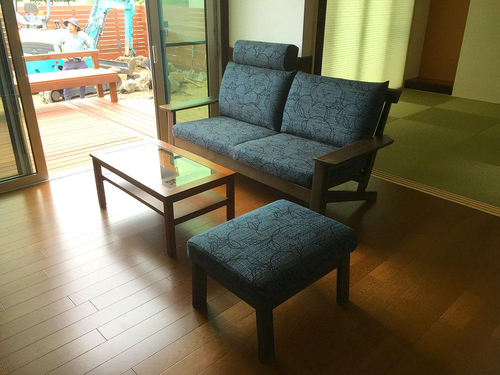 お客様への家具納品事例 南アルプス市N様邸