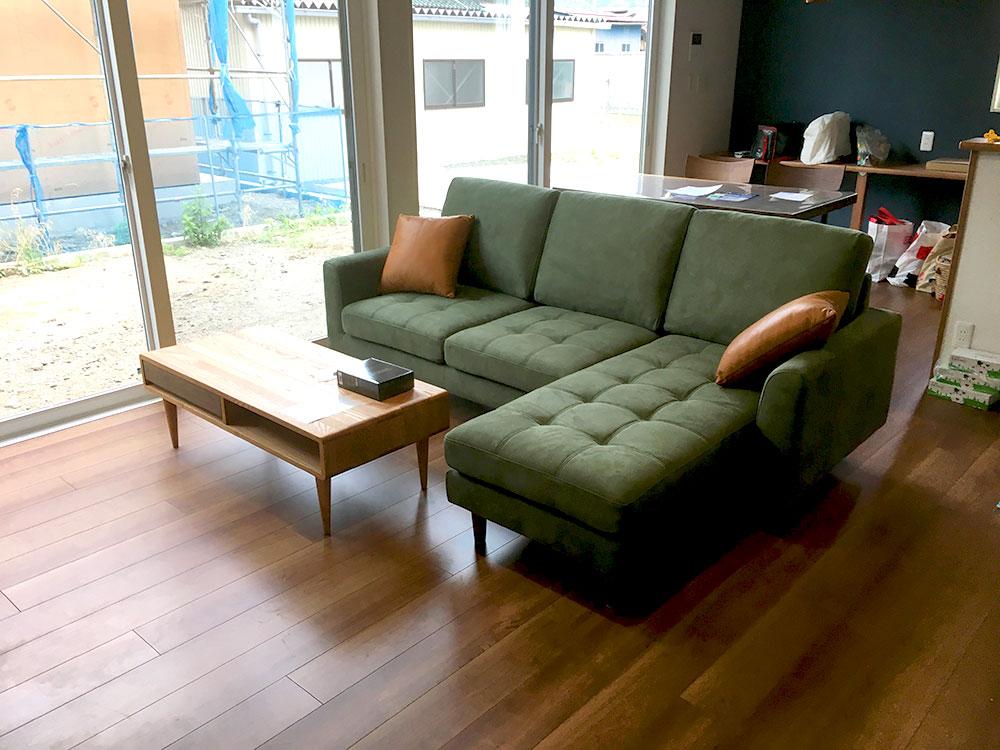 お客様への家具納品事例 南アルプス市S様邸